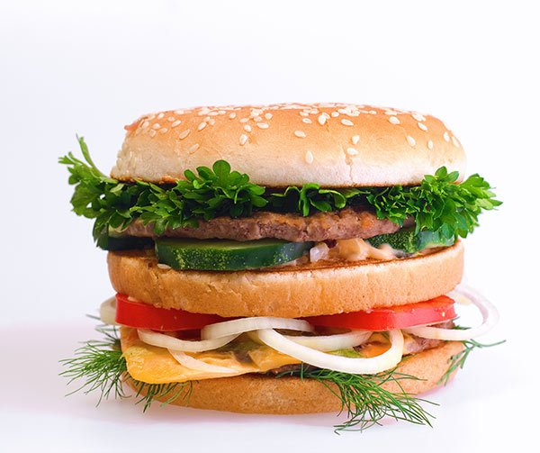 Saturated Fat From Burgers