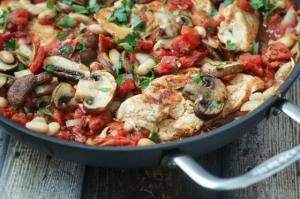 Tuscan-Chicken-Skillet