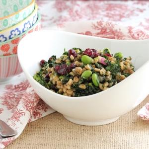Barley Kale Salad