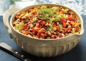 Black-Eyed-Pea-and-Stewed-Tomato-Salad