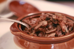 Buckwheat with Mushrooms and onions