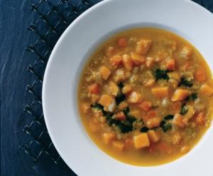 Curried Lentil & Squash Soup