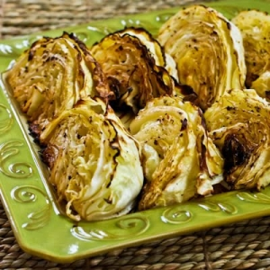 Roasted Cabbage with Lemon