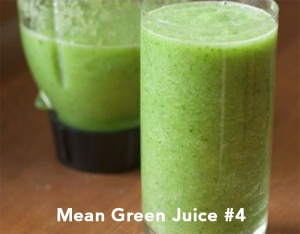 Mean Green Juice #4