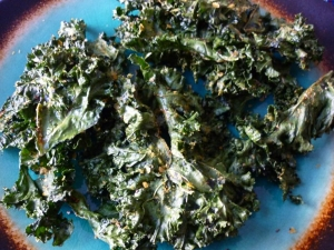 Microwave Kale Chips