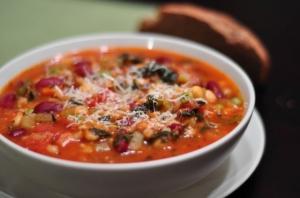 Barley Minestrone Soup