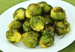 Cider-Braised Brussels Sprouts