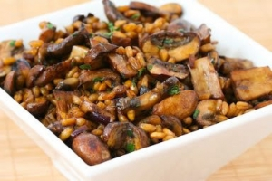 Farro and Mushroom Dressing