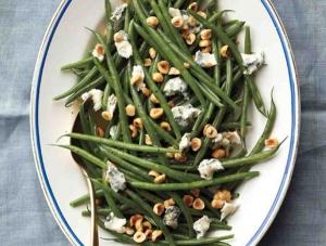Hazelnut and Feta Green Beans