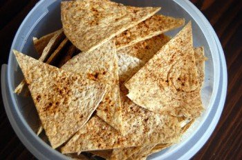 Healthy & Spicy Tortilla Chips