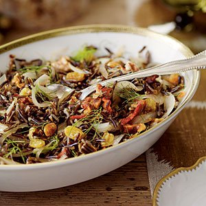 Wild Rice with Fennel