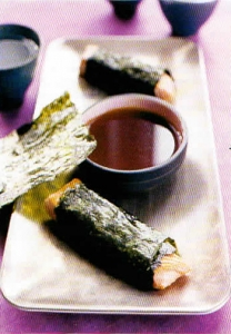 Nori-Wrapped Salmon