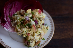 Curried egg salad recipe