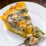 Kale-and-Mushroom-Spaghetti-Squash-Crust-Quiche