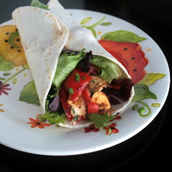 Spicy Balsamic Tofu Salad