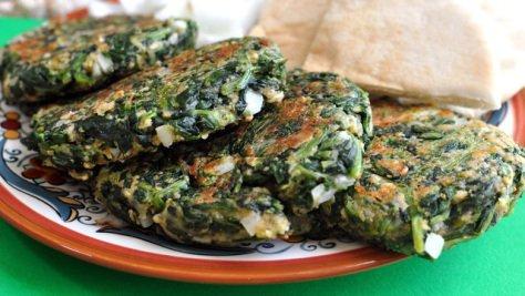 http://thevillagecook.com/spinach-burgers/
