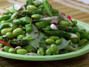Asparagus-Edamame Salad
