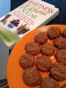 nutty oat cookies