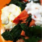 Salmon Eggs Greens