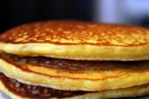 grain free garbanzo bean pancake