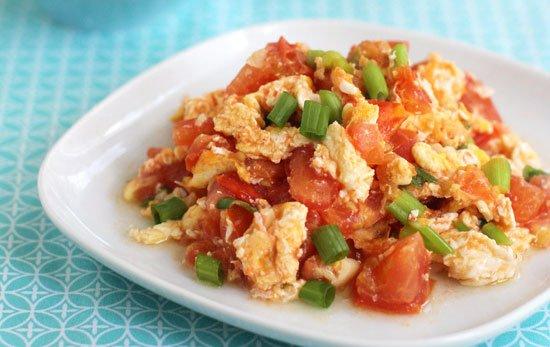 Stir-fried-Tomato-and-Egg