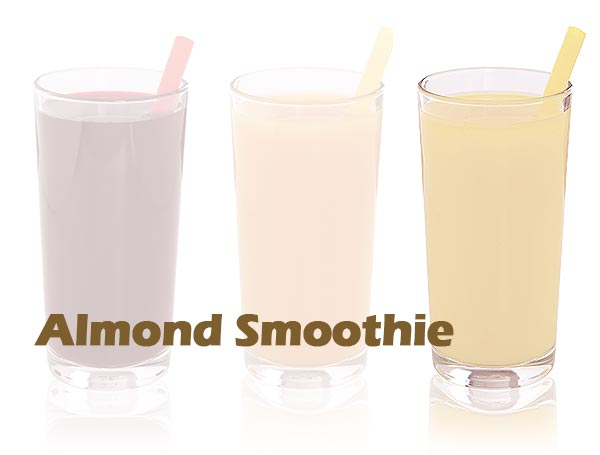 almond smoothie with UltraClear