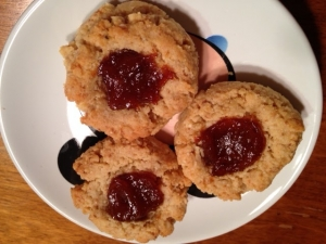 apricot thumbprint cookies