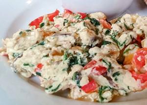egg white scramble