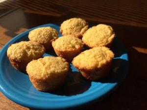 Almond Flour Mini Muffins
