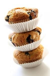 blueberry muffin almond