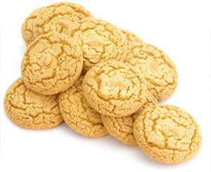 gingersnap almond flour cookies
