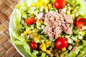 deconstructed tuna salad
