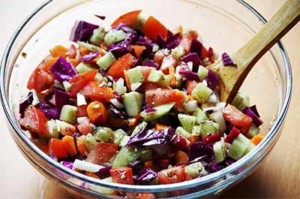 Chopped Veggie Salad
