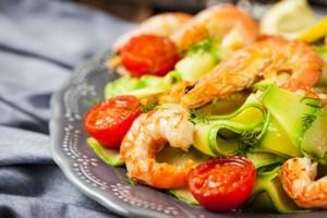 zucchini shrimp