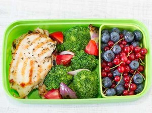 Chicken bento lunch