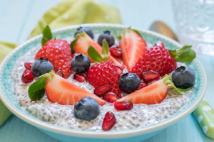 Chia Pudding with Berries