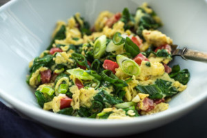 green egg scramble