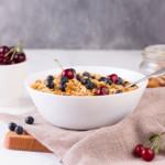 nutty oats breakfast