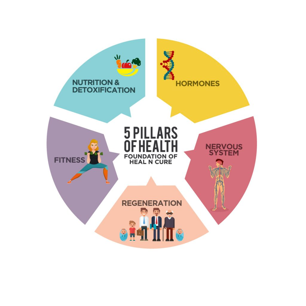 5 Pillars of wellness