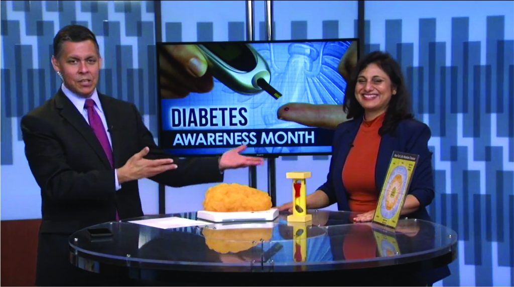 """Dr. Meena Malhotra shares her 3 secrets to prevent, stop and reverse Type 2 Diabetes"" on Fox News"